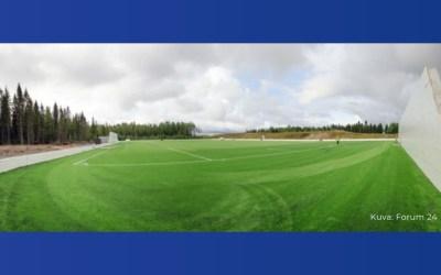 Redocap mukana, uusi Kempeleen palloiluhalli avataan syyskuussa