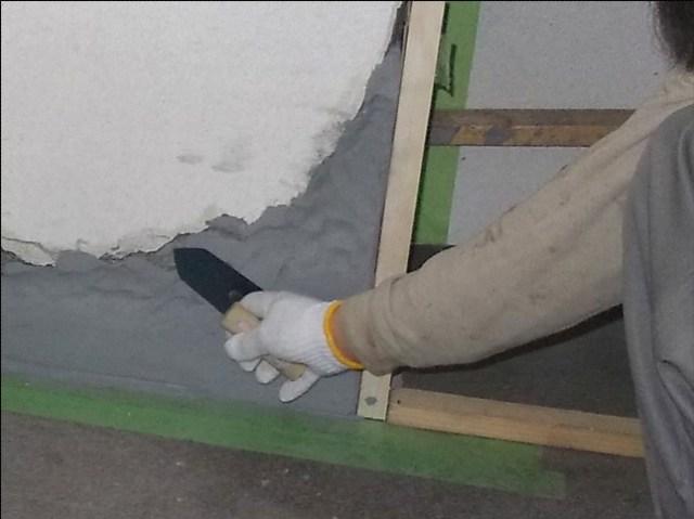 エポキシ樹脂モルタル充填工法
