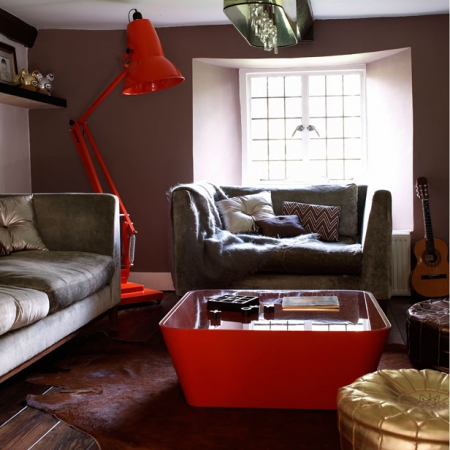 Modern Retro Living Room