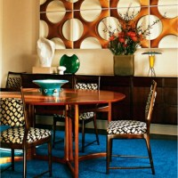 Modern Retro Dining Room - Red Online