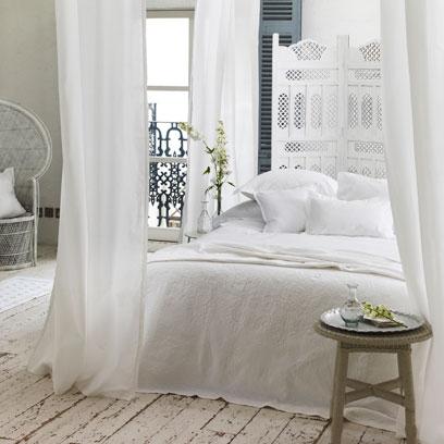 Allwhite bedrooms  Bedroom Colour Scheme Ideas  Interiors  Red Online