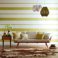 Living Room Wallpaper | Wallpaper - Red Online