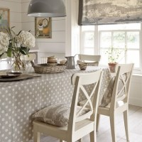 Country-style Rooms | Bedroom, dining room, and kitchen ...