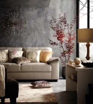 grey living rooms decorating concrete wall gray decor dove painted interior traditional sofa designs interiors chic walls paint inspiration modern