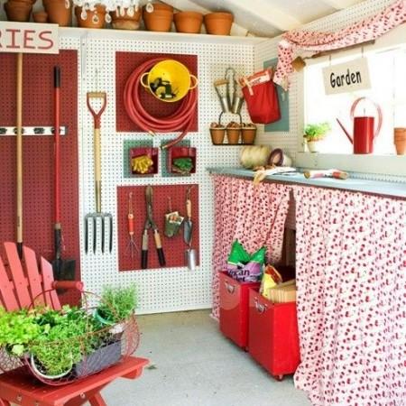 Sheds & Summerhouses Garden Decorating Ideas Red Online
