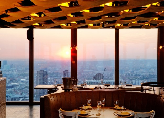 Duck and Waffle - London's best restaurants with a view