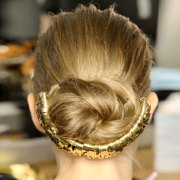 loose buns easy updos - red