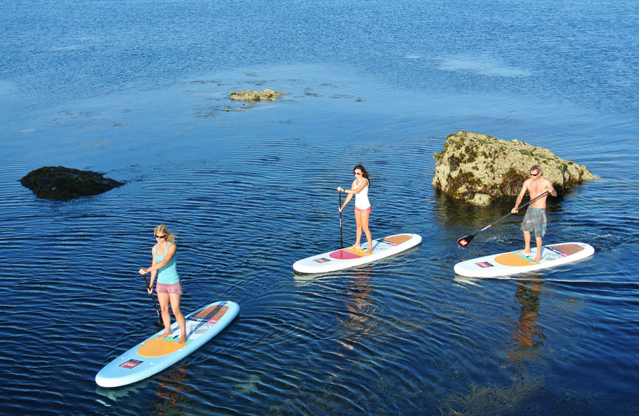 girls paddle on red paddle co 2013 boards