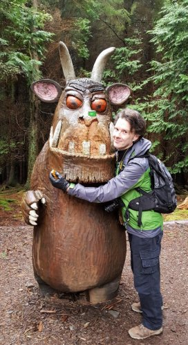 David and the Gruffalo