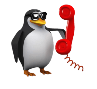 remote support red penguin