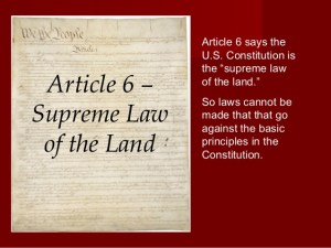 Not an Article 5, Rather an Article 6