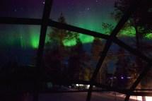 Glass Igloo Finland Northern Lights