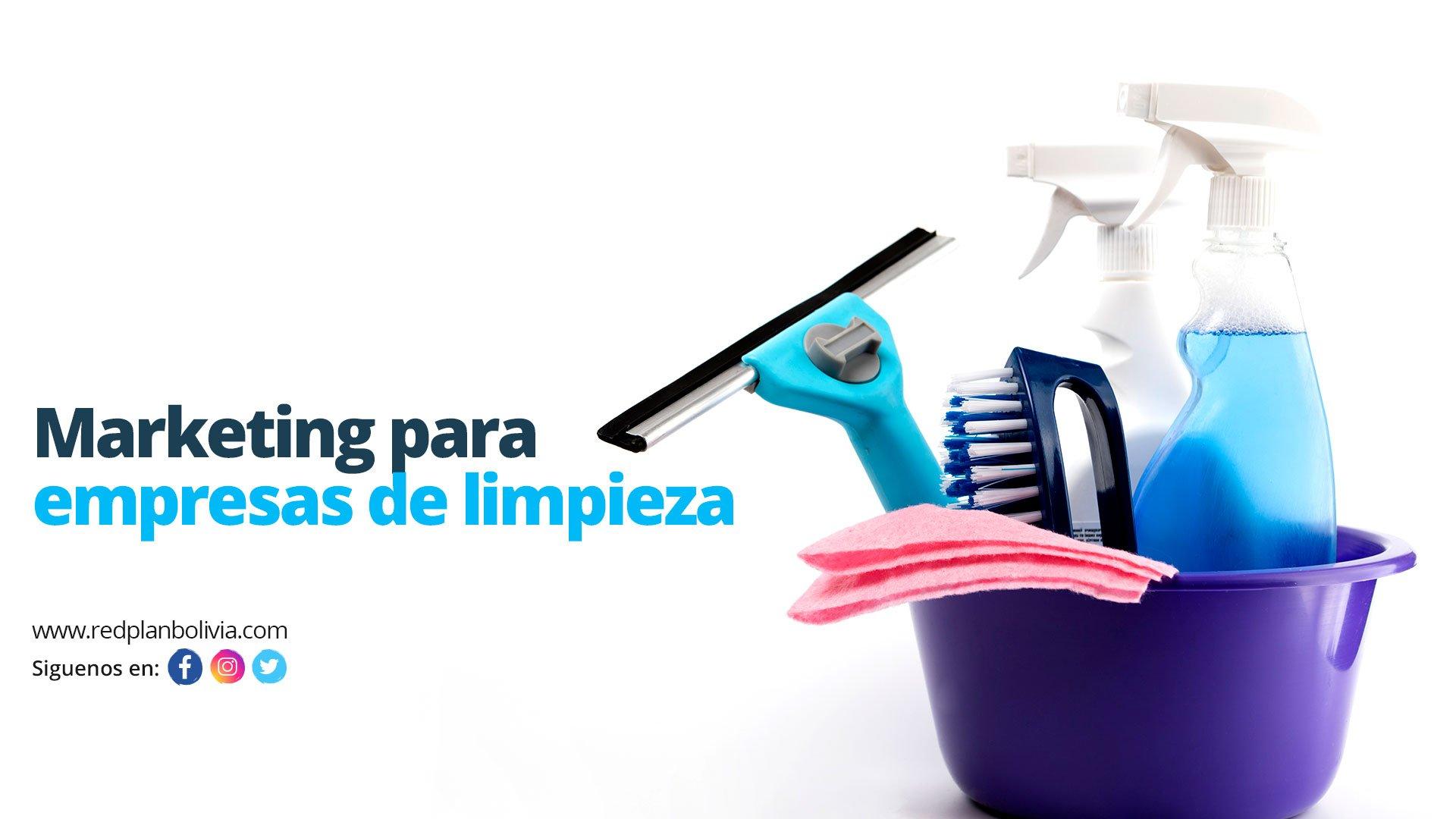 marketing digital para empresas de limpieza