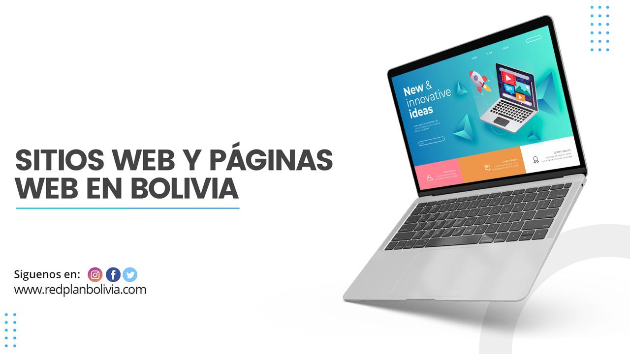Diseño de páginas web en Bolivia y desarrollo de sitios web