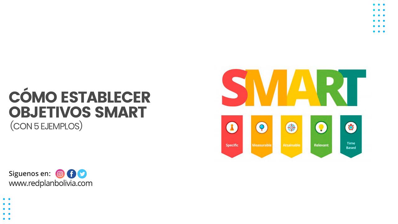 Presentamos los objetivos SMART y la estructura que necesitará