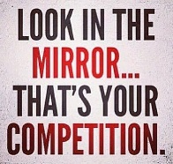 Look in the mirror…