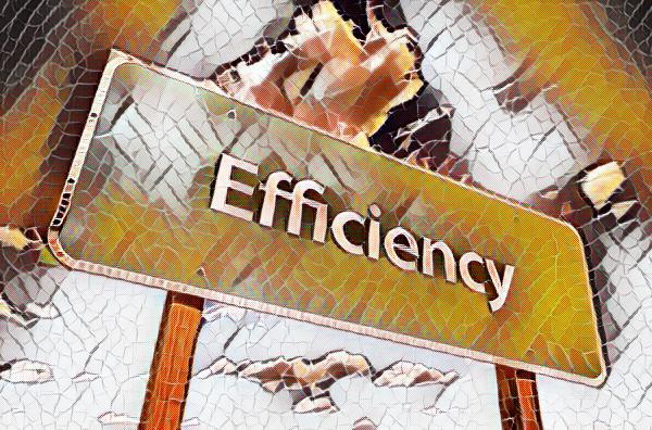 Its the net efficiency … stupid