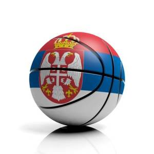 30087626-basketball-ball-flag-of-serbia-isolated-on-white-background