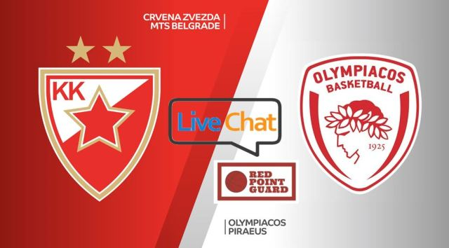 RPG Live: Crvena Zvezda vs Olympiacos
