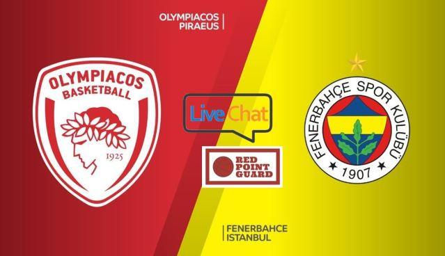 RPG Live: Olympiacos vs Fenerbahce