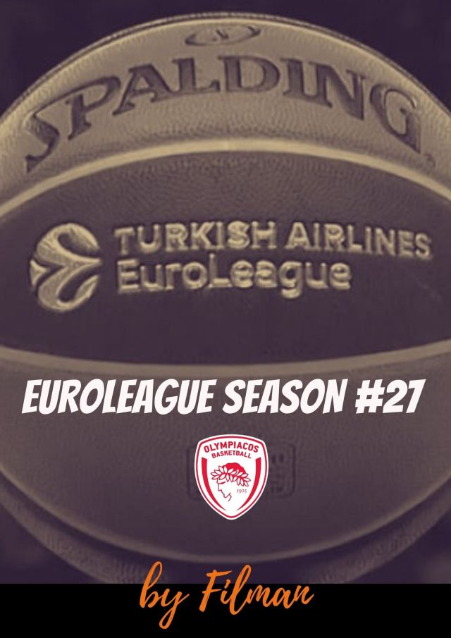 Euroleague Season #27 – We are back (vs Baskonia)