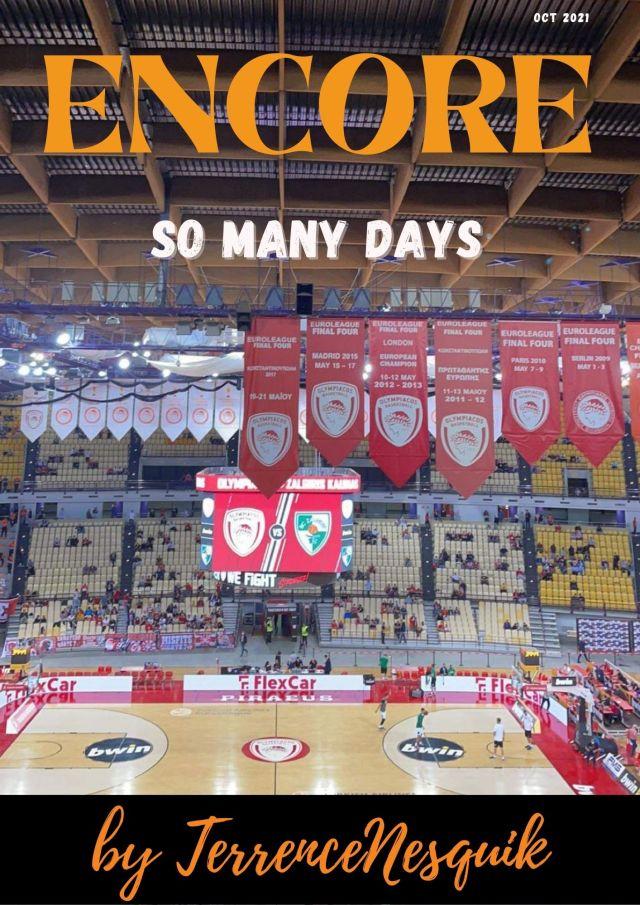 Encore: So many days