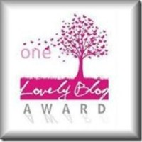 My first - One Lovely Blog Award / The Very Inspiring Blogger nominations