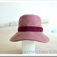 Hat - wearable muslin