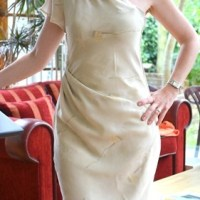 RPT's Challenge: Asymmetric Designer Dress by Burda Style