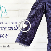 How To Sew Lace with Alison Smith - Craftsy Classes On Sale
