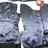 Progress on Dark Blue French Jacket