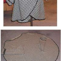 What to make from a circle panel - other then circle skirt?