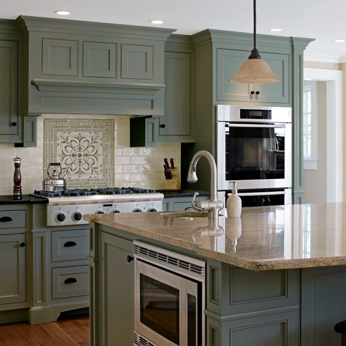 Nuvo Old Sage Cabinet Paint