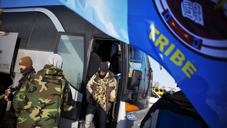 U.S. Military Veterans at Standing Rock to Mobilize to Flint for Water Crisis