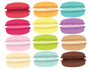 Macaron Note Cards