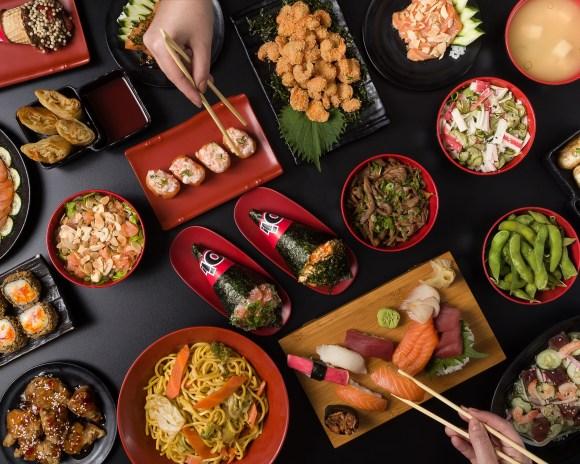 por que investir em fotos profissionais? fotografia de gastronomia por RED produção audiovisual para YOI rolls and temakis