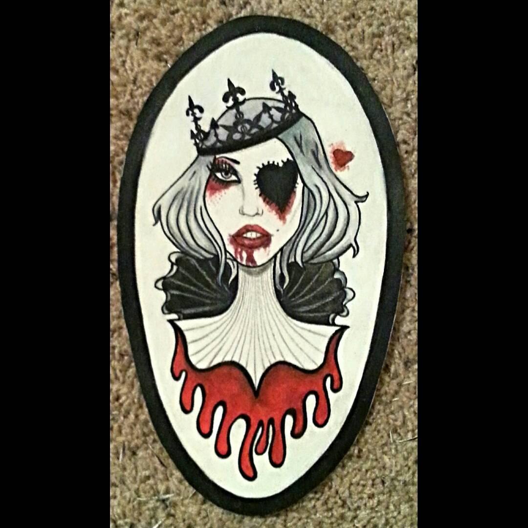 Fan art of Elena from Jessica Wolfe