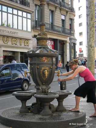 Las Rambla Fountain