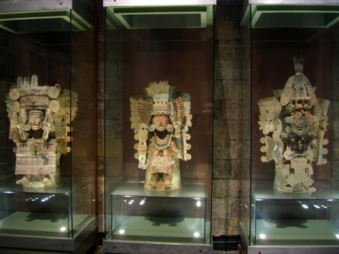 Museum of Anthropology in Mexico City, photo by Laura Stokes 2007, all rights reserved
