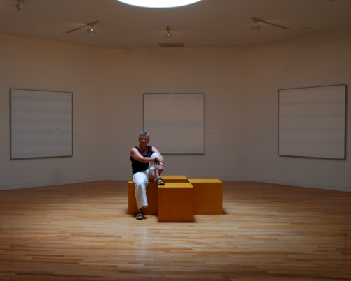 Agnes Martin Room, Harwood Museum, Taos, New Mexico, August 2007, photo © 2007 by Kevin Moul. All rightsreserved.