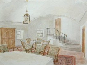Informal Dining Room Long View (1924-1939)