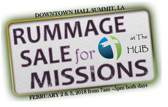 RRPJ-HUB Rummage Sale-18Jan31