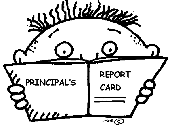 Time for Evaluations – Principal's Report Card