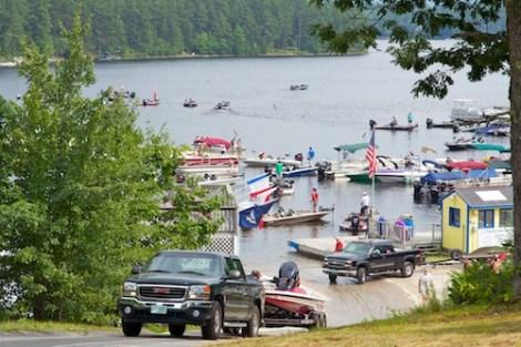 Pro Bass fishing tournament