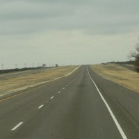 Following the Straight and Narrow (roads) of West Texas