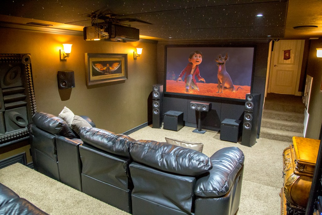 Home Theater in Murray, Utah