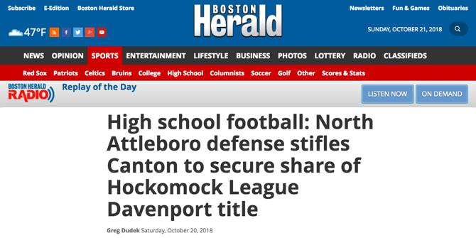 Herald North Canton Headline