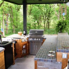 Outdoor Kitchen Bar Game Paver Installation Pergola Patio Water Feature Tulsa Oklahoma Ok With And Tile Top