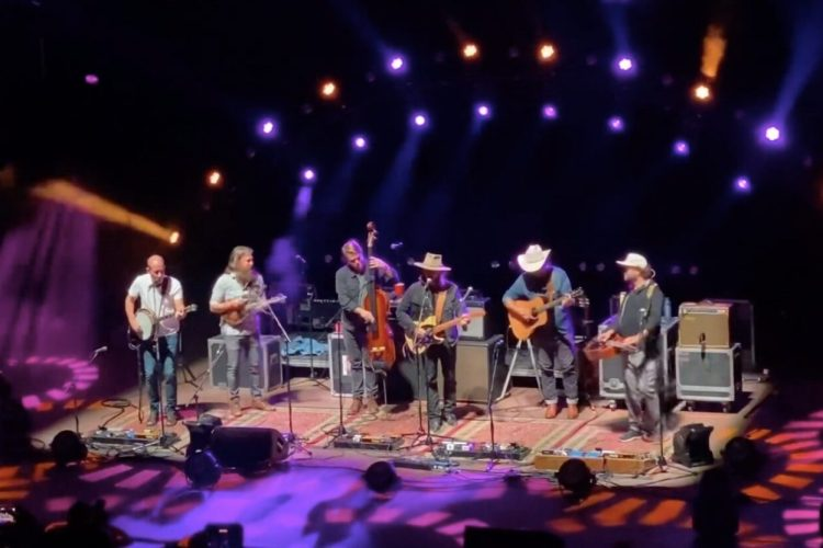 Greensky Bluegrass Welcomes Lukas Nelson & Debuts The Band Cover At Red Rocks