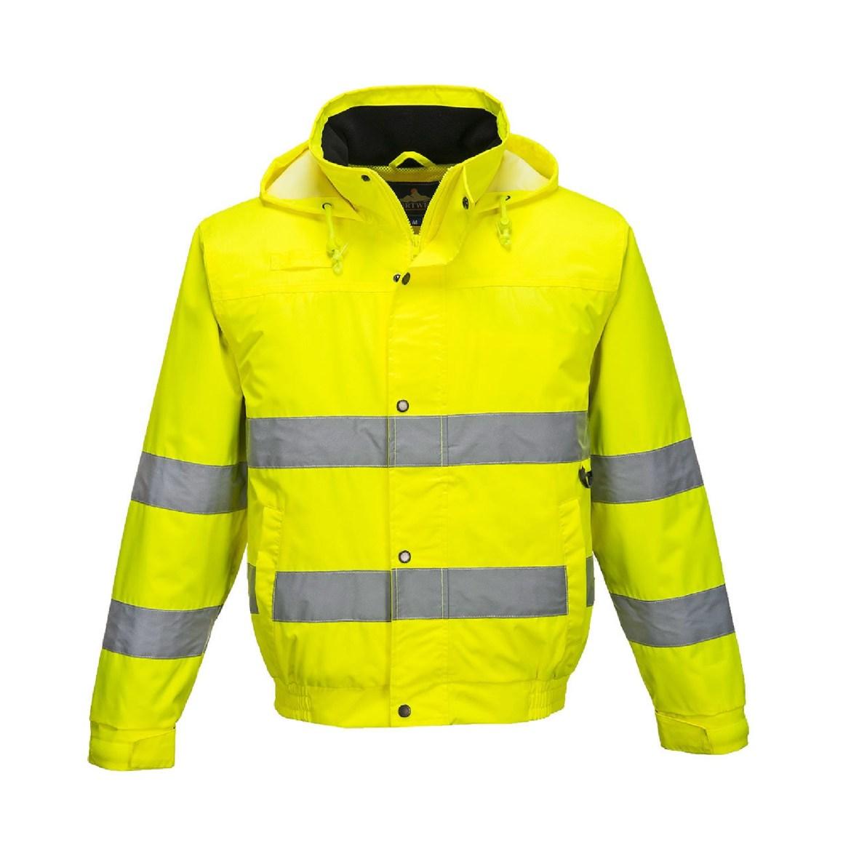 Redrok Workwear Centre Plymouth - Hi-Vis Lite Bomber Jacket